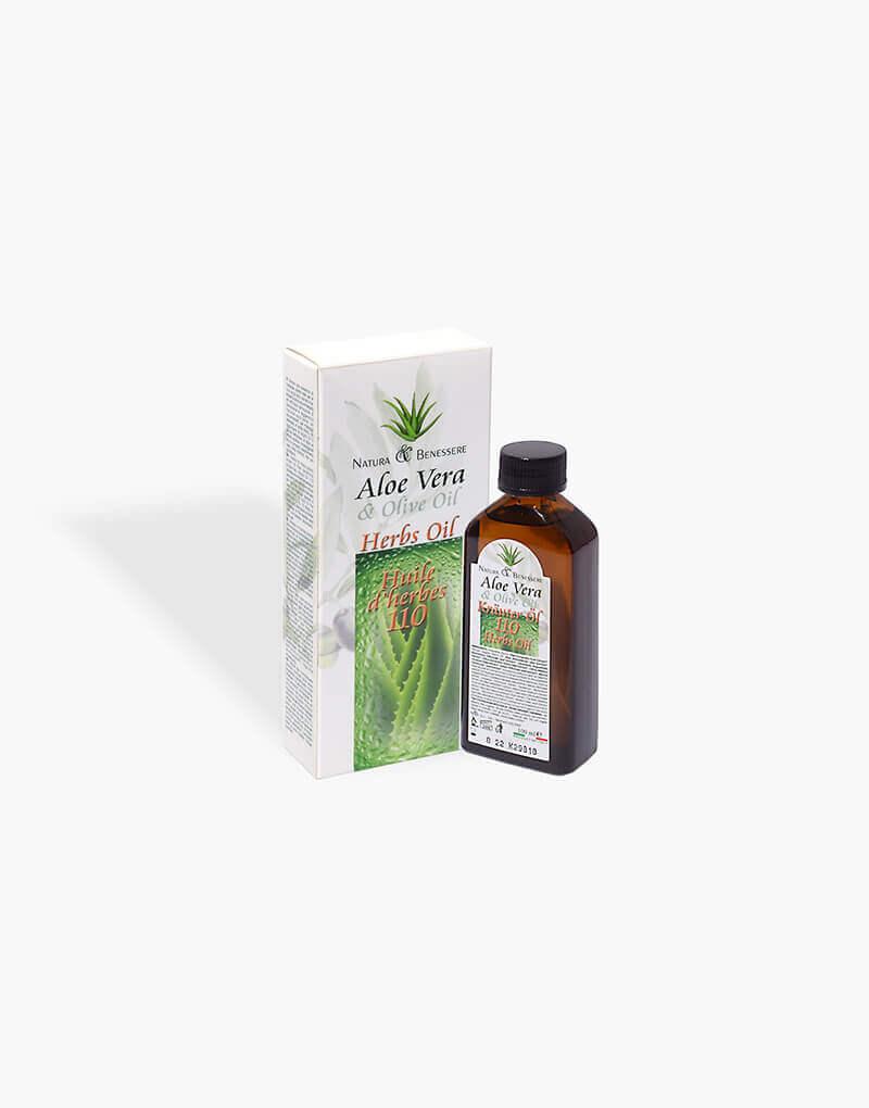 Krauter oil 110 Hierbas y aloe vera