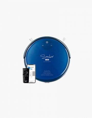 Robot Aspirador Azul
