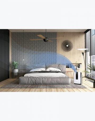 Purificador de aire con Luz ultravioleta dormitorios