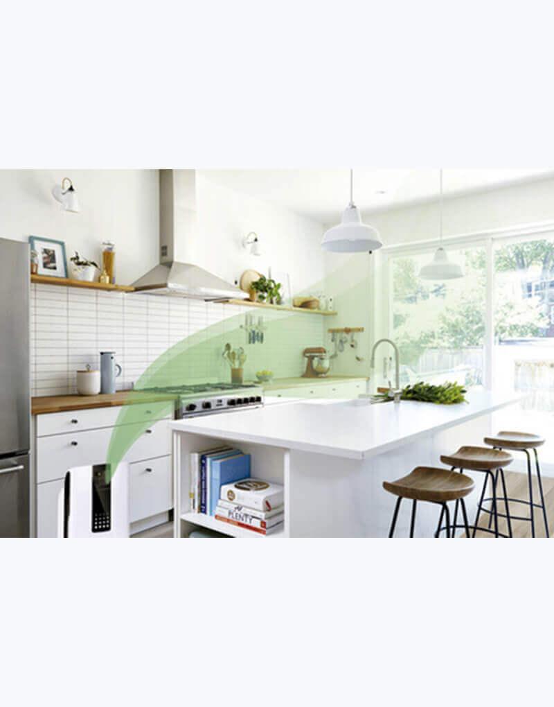 Purificador de aire con Luz UV para la cocina