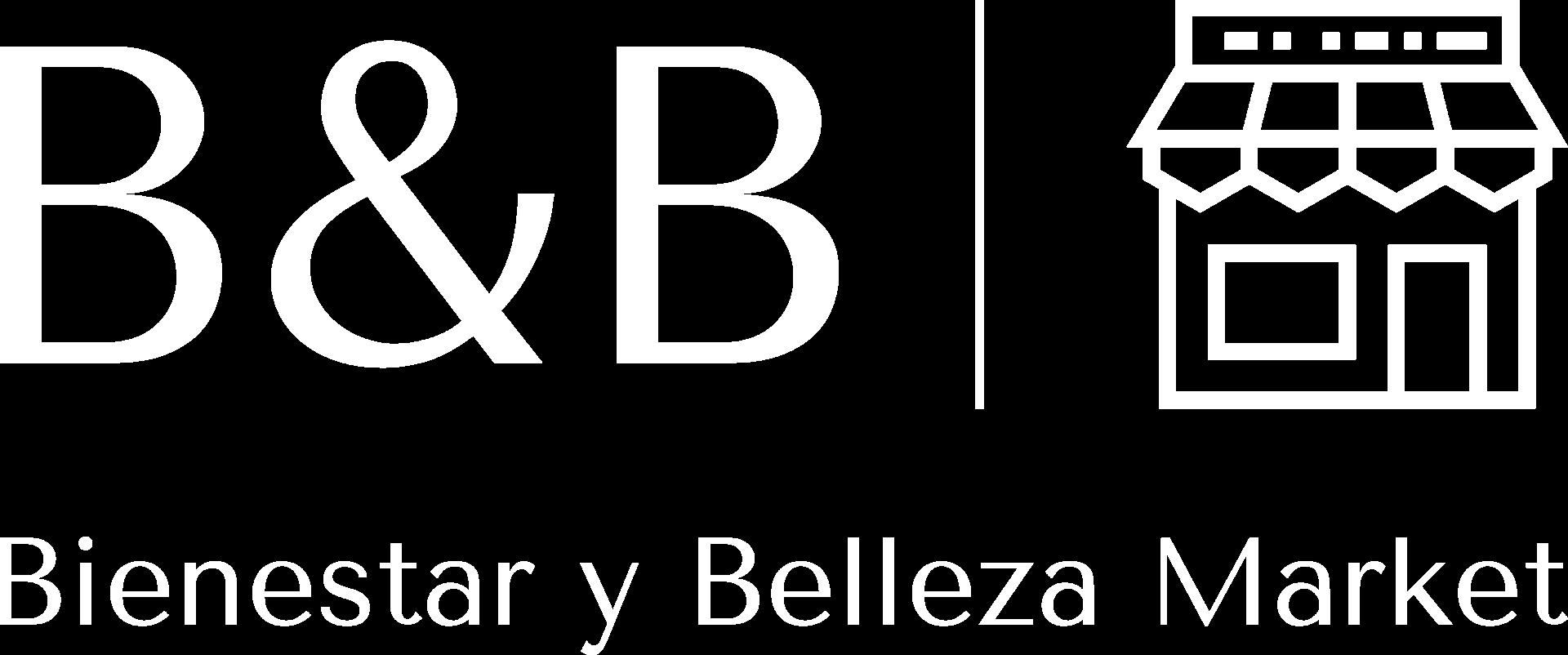 Logo blanco de Bienestar y Belleza Market