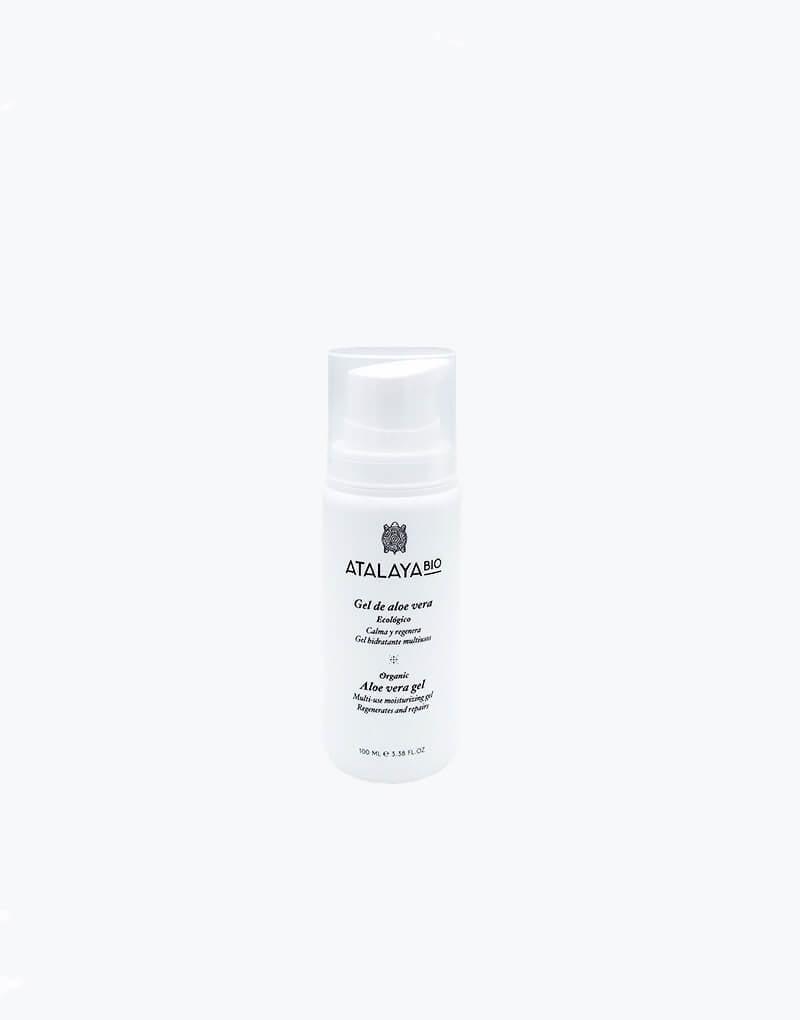 Organic aloe vera gel. Cosmos Organic. 100ml. AirFree. External use.