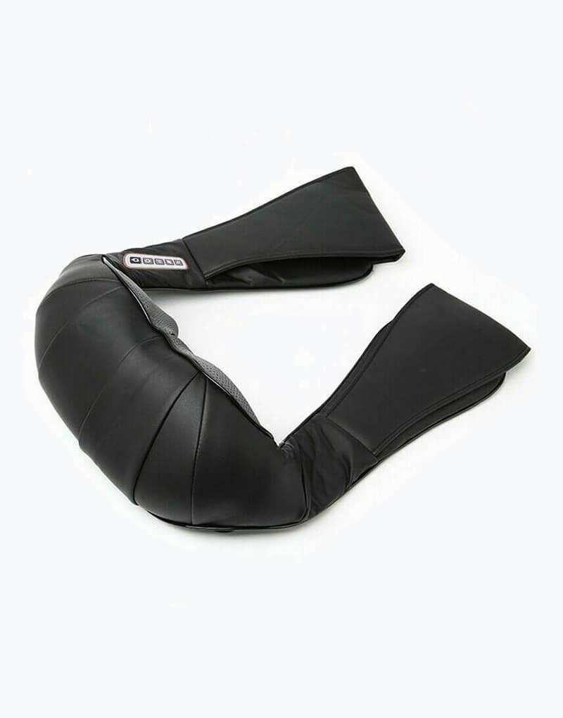 Masajeador de Cuello con Calor y Vibración negro