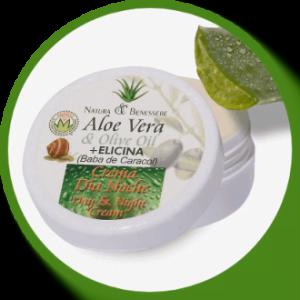 Crema de Baba de Caracol y Aloe Vera